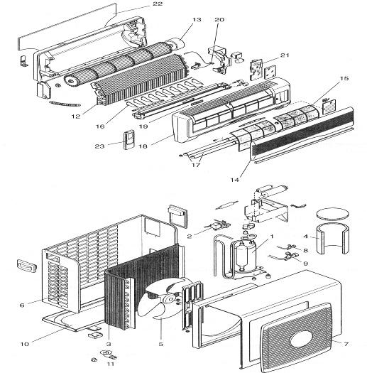 кассетных кондиционеров